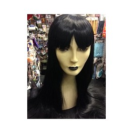 Long Straight Mortitia Wig
