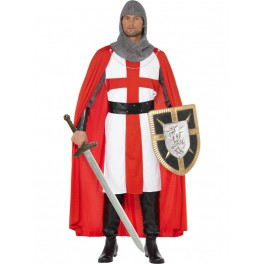 Saint George Crusader Knight Costume