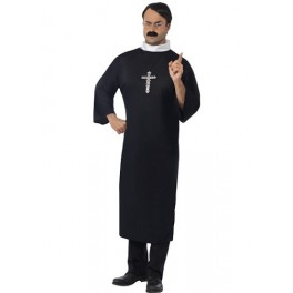 Father Ted Priest Or Vicar Costume