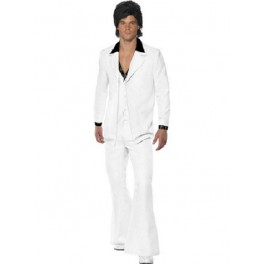 1970's John Travolta White Suit