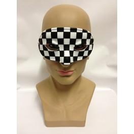 Chequered Eyemask
