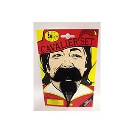 Cavalier Moustache And Goatee Beard