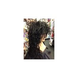 1980's Gene Simmons Kiss Rocker wig