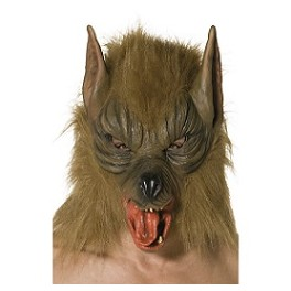 Wolf Rubber Horror Mask