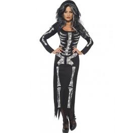 Full Length Skeleton Dress
