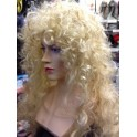 Dolly Parton Kylie Minogue 1980's Long Curly Permed Wig