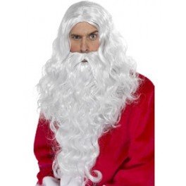 Long Santa Wig And Beard