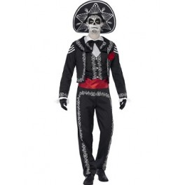 Mariachi Style Day Of The Dead Costume