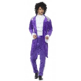 Prince 1980s Purple Velour Suit